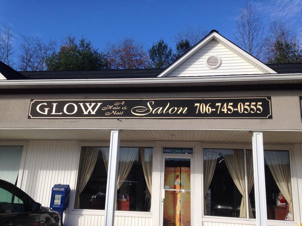Glow a Hair & Nail Salon: Hill Crest Plz, Blairsville, GA