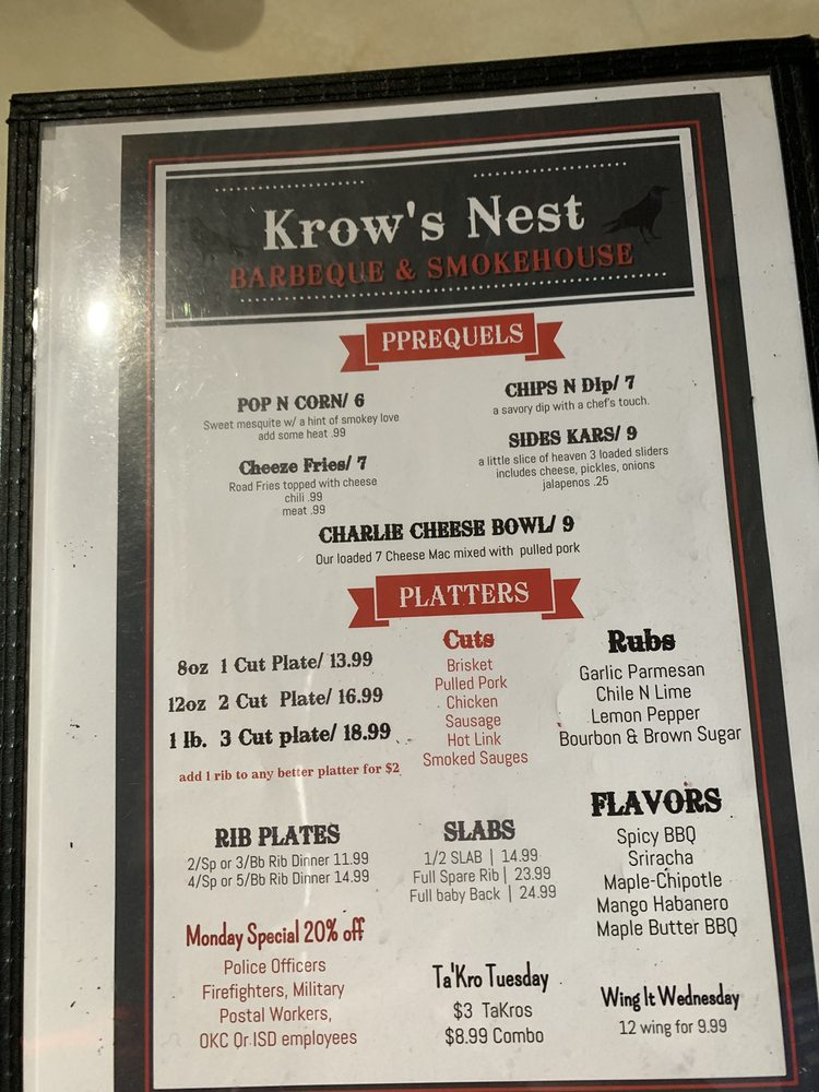 The Krow's Nest BBQ & Catering - 53 Photos & 21 Reviews
