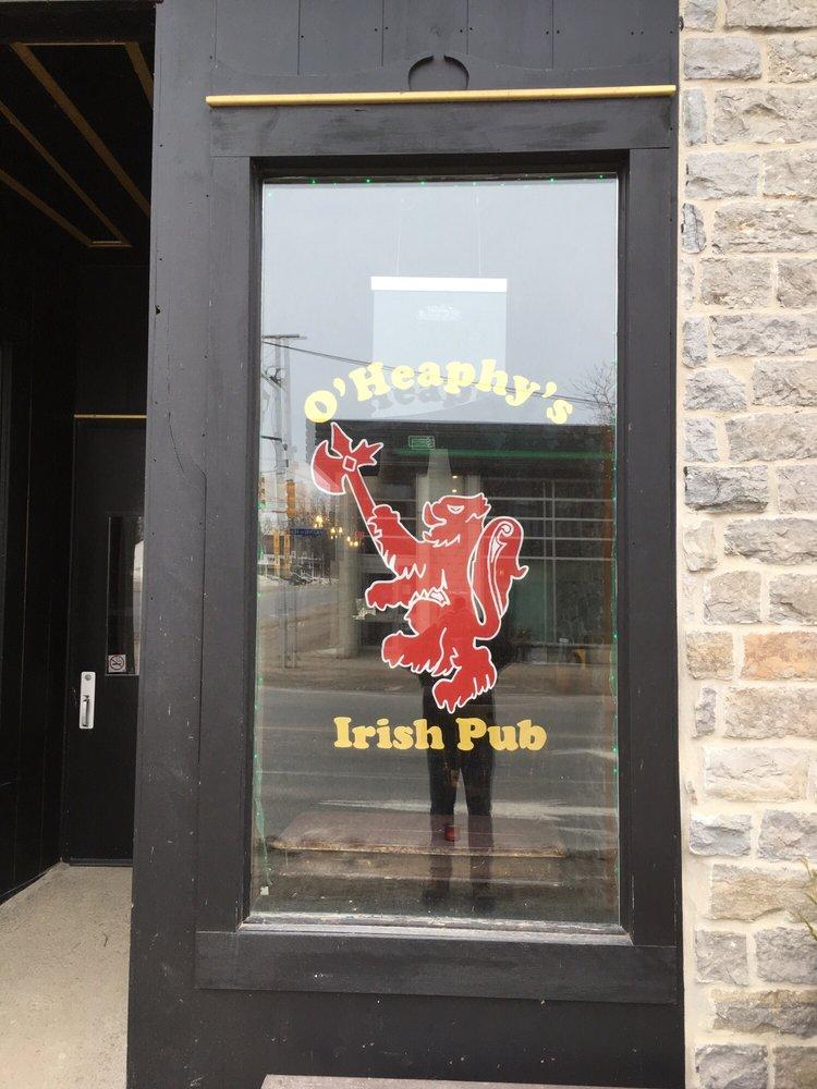 O'heaphys: 101 King Street W, Prescott, ON