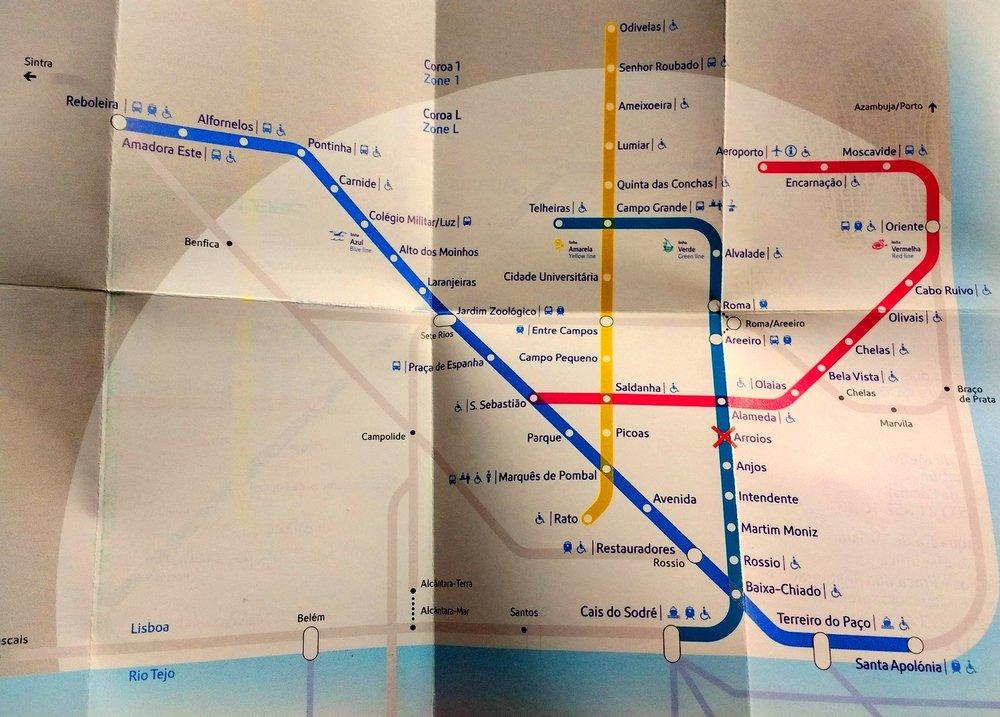 Metro Map Lisbon Portugal.Metro Lisbon Portugal Map Yelp