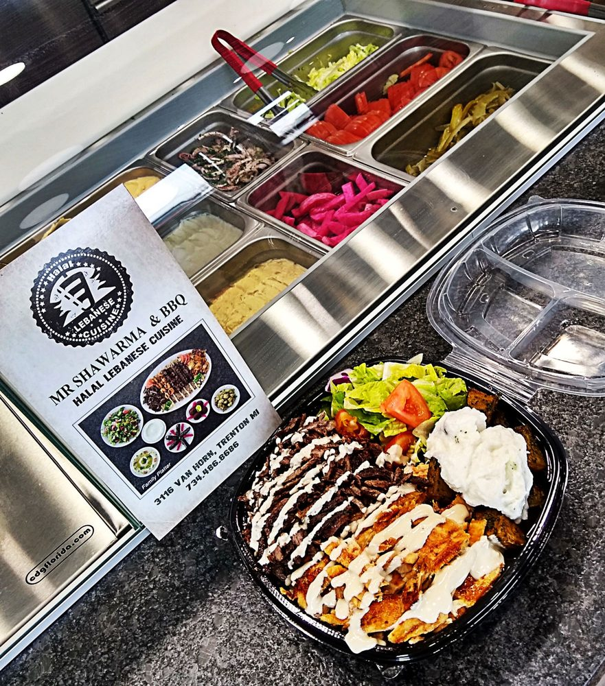 Mr Shawarma and BBQ: 3116 Van Horn Rd, Trenton, MI