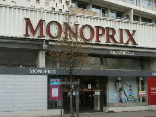 Monoprix supermarkets 171 cours emile zola gratte for Top garage villeurbanne