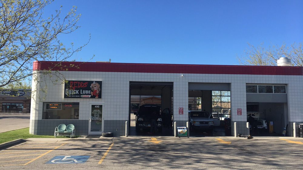 Redd's Shell Quicklube: 490 E 1700th S, Clearfield, UT
