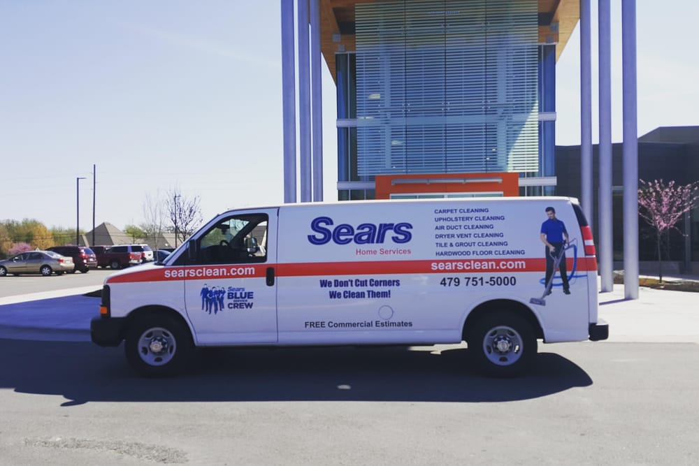 Sears Carpet Cleaning and Air Duct Cleaning: 1457 E Robinson Ave, Springdale, AR
