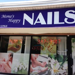 Mona s happy nails nail salons 727 w jericho turnpike for Mona j salon contact
