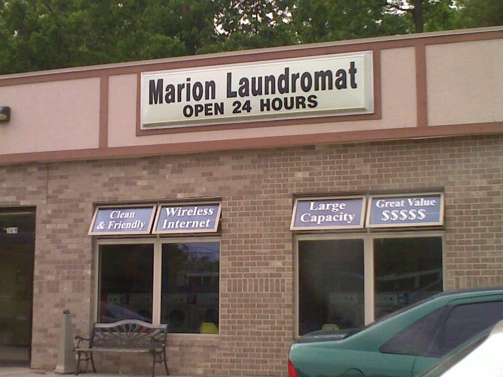 Marion Laundromat: 369 7th Ave, Marion, IA
