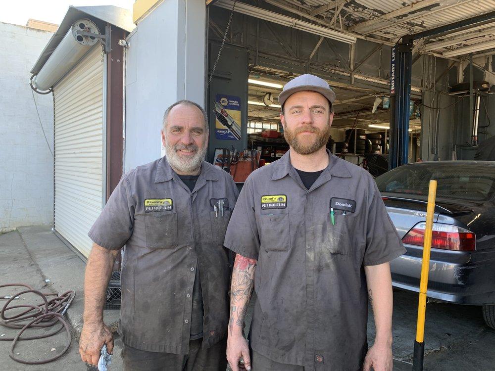 Pisani's Exxon Service: 2 Grant Ave, Winters, CA