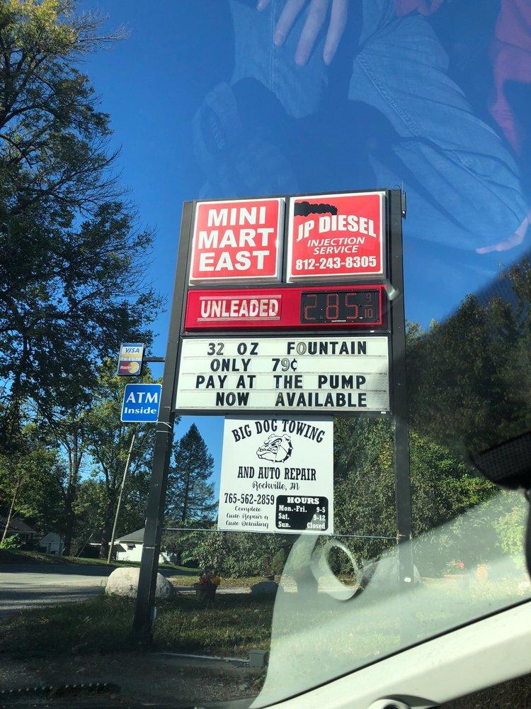 MiniMart East: 710 East Ohio St, Rockville, IN