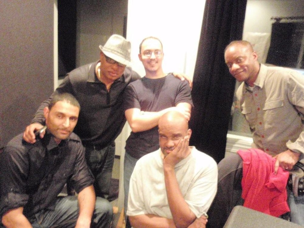 Recording Session With The Great Paul Minor Ski Johnson And Trevor