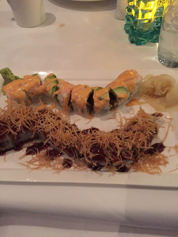 Dynamite roll kamikaze roll yelp for Passion fish reston va