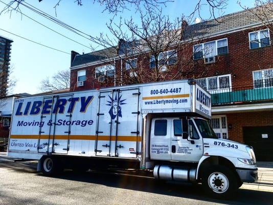 Liberty Moving And Storage 350 Moreland Rd Commack Ny Services Mapquest