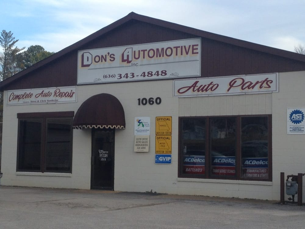 Don's Automotive: 1060 Gravois Rd, Fenton, MO