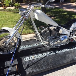 Photo Of Jupiter Motorcycle Transport And Storage   Jupiter, FL, United  States. Custom