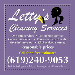 Letty\'s Cleaning Services - Home Cleaning - East Village, San Diego ...