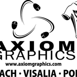 Photo of Axiom Graphics - Porterville, CA, United States. IMPACT IMAGING FOR THE