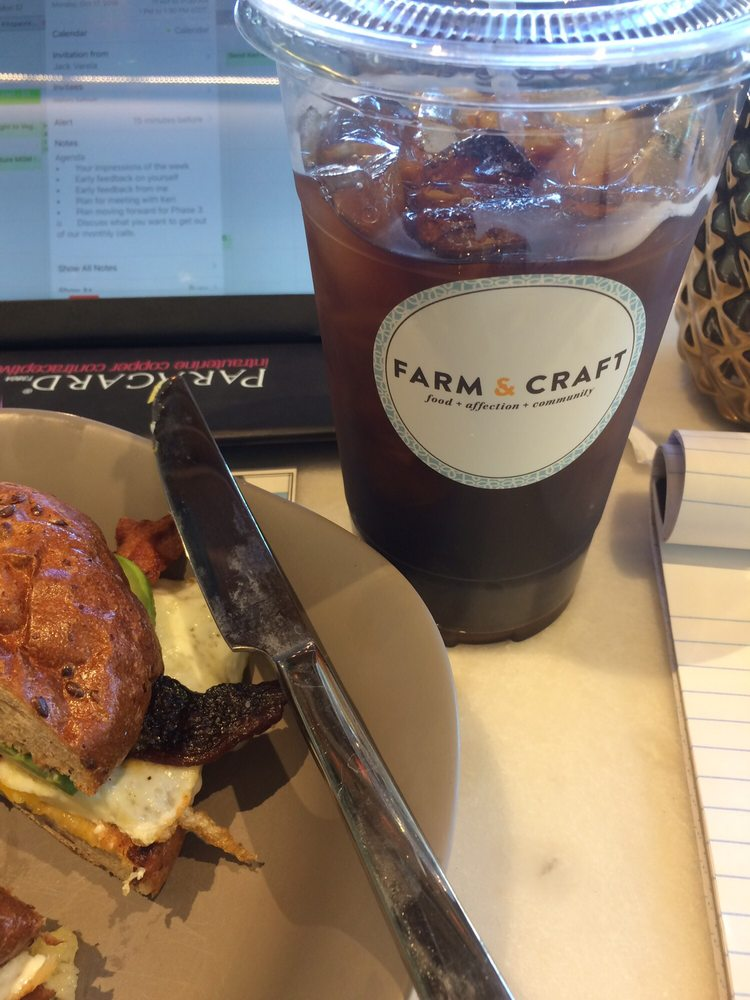 Cold brew yelp for Farm and craft scottsdale