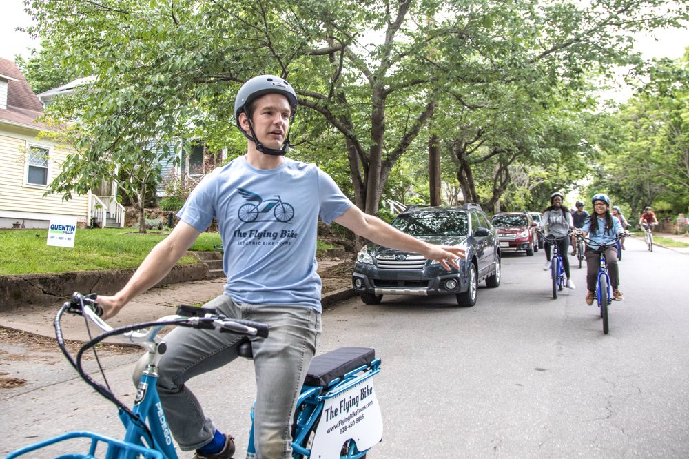 The Flying Bike: 225 Coxe Ave, Asheville, NC