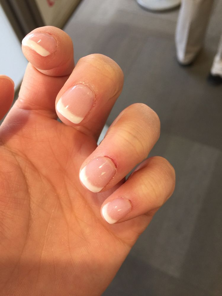 The nail place inside the Walmart .don\'t go there is awful - Yelp