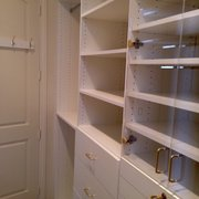 Room For Lots Of Photo Of Closet Crafters   Ventura, CA, United States.  White Melamine Closet With ...