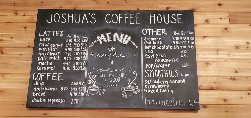 Joshua's Coffee House: 101 N Main Ave, Hartford, SD