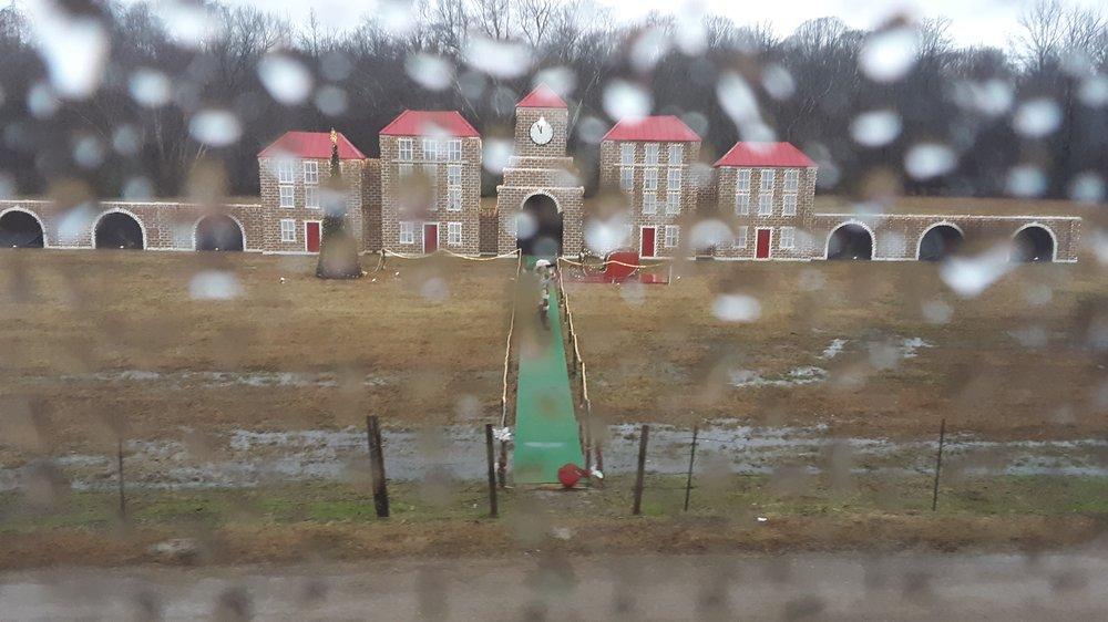Train to Christmastown: 131 Public Square, Batesville, MS