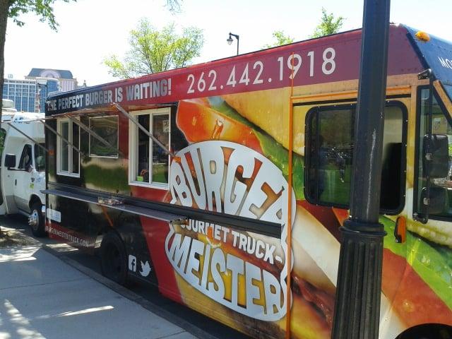 Burgermeister Food Truck Milwaukee Wi