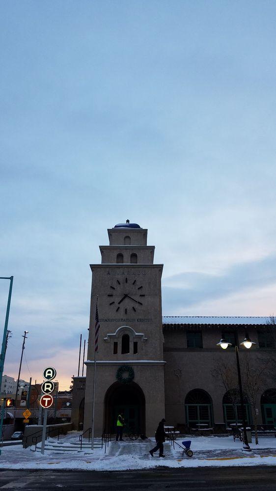Albuquerque Transit Center Clock Tower