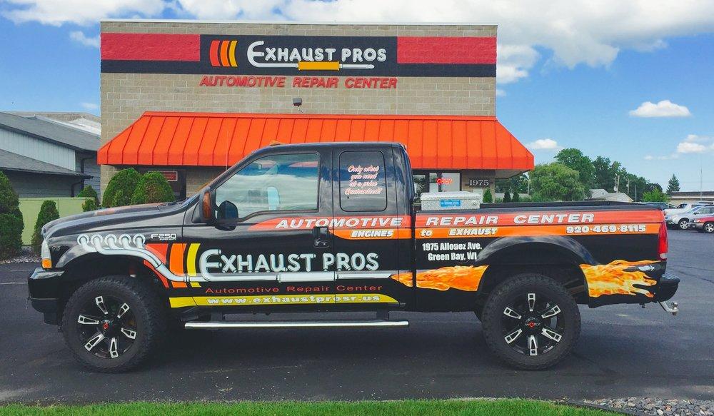 Exhaust Pros Automotive Repair Center: 1975 Allouez Ave, Green Bay, WI