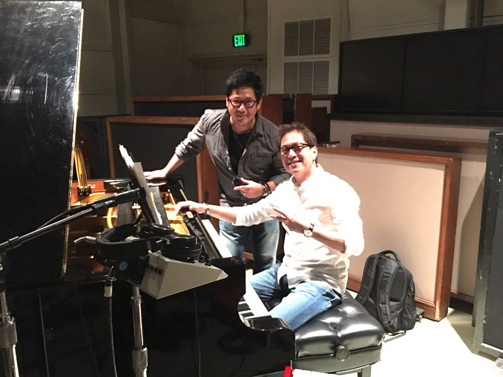 Photo of East West Studios - Los Angeles, CA, United States. With Tateng Katindig 2016 Album produce by Derek Nakamura and Jim Ng. It's an honor to be a part of it.