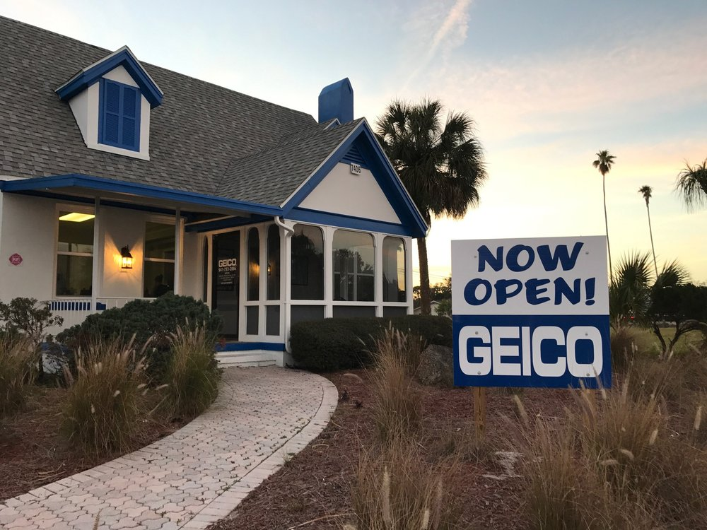 Geico Insurance 7406 N Tamiami Trl Sarasota FL Phone Number