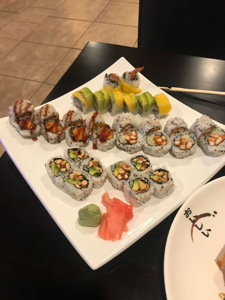 Kiso Sushi & Hibachi: 11780 E Mlk Jr Blvd, Seffner, FL