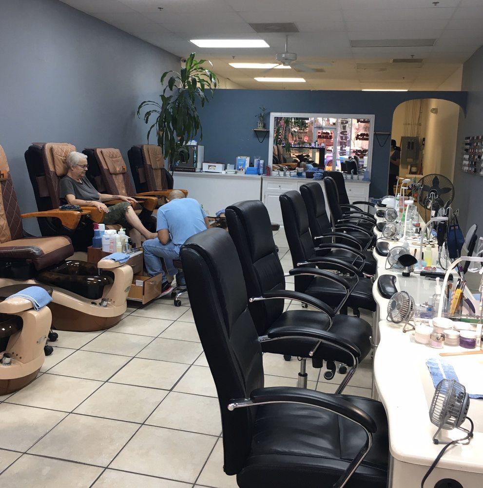 Jada Nails: 9838 Little Rd, New Port Richey, FL
