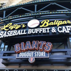 competitive price 4b410 28374 San Francisco Giants Dugout at Fisherman's Wharf - 13 Photos ...