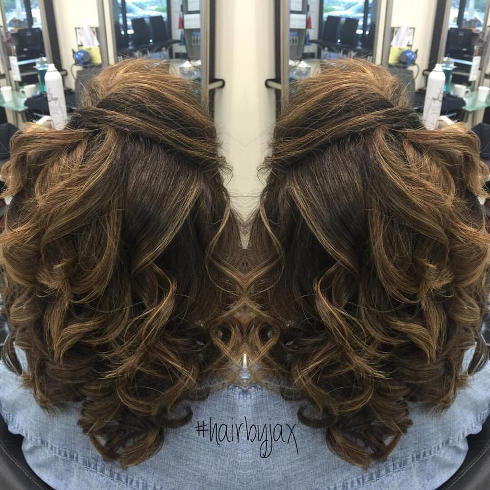 Beautiful Hairstyling Curls For A Wedding Ask For Jackie