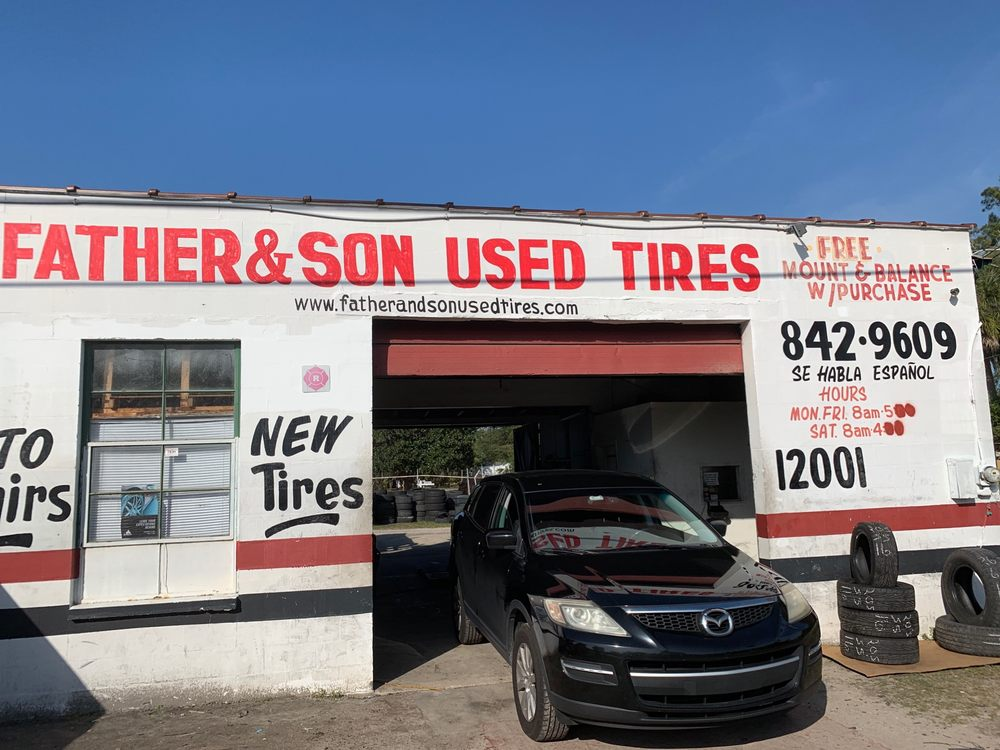 Father and Son Tires: 9921 US Hwy 41, Gibsonton, FL