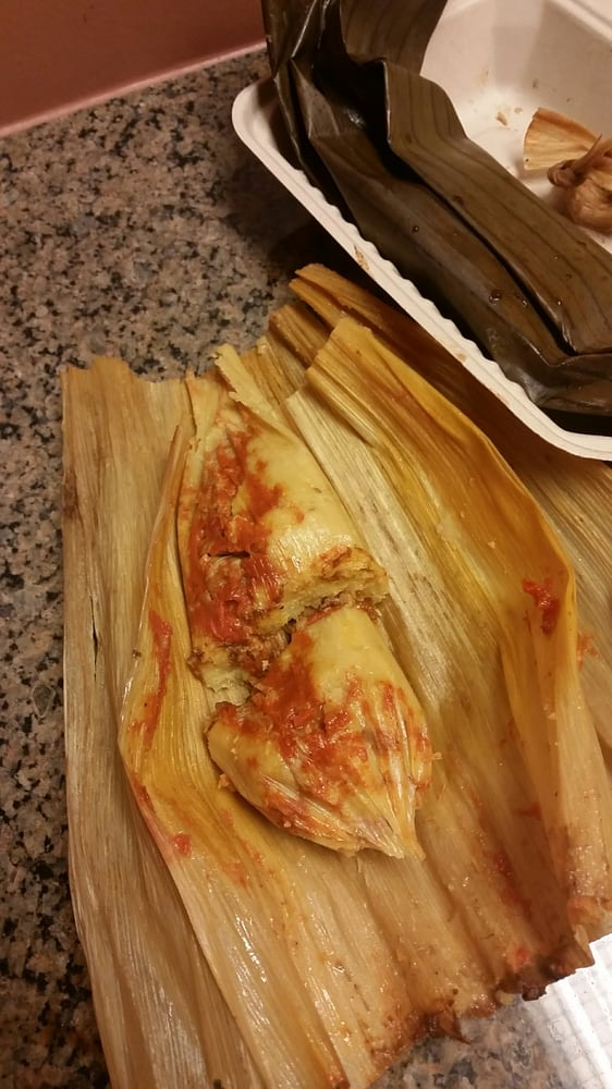 Photo of Chula Tamale - Denver, CO, United States. Corn husk pork