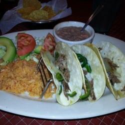 Photo Of Cristinau0027s Fine Mexican Restaurant   Frisco, TX, United States.  Brisket Tacos