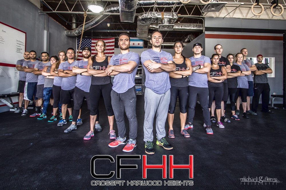 CrossFit Harwood Heights: 4635 N Olcott Ave, Harwood Heights, IL