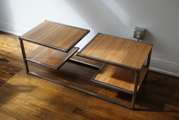 Photo Of Play Haus Design   Cleveland, OH, United States. Industrial Steel.  Industrial Steel Coffee Table