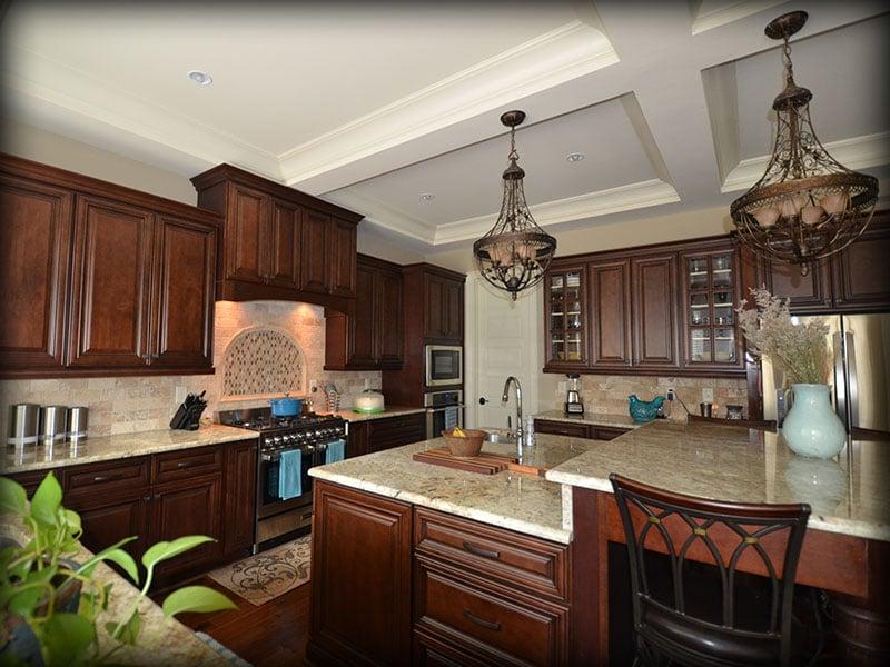 Charleston saddle rta cabinets made by lily ann cabinets - Lily ann cabinets ...