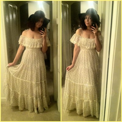 Gunne Sax Dress One Of The Two That Came Home With Me