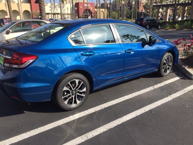 My brand new 2014 honda civic ex yelp for Lemon grove honda