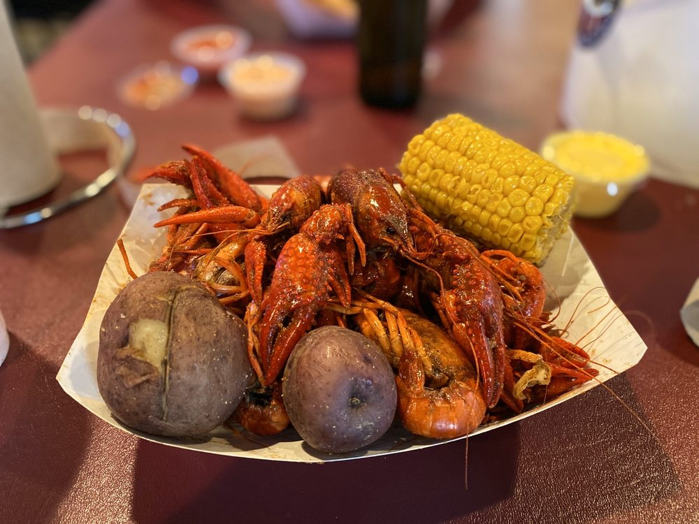 Food from The Crawfish Trap