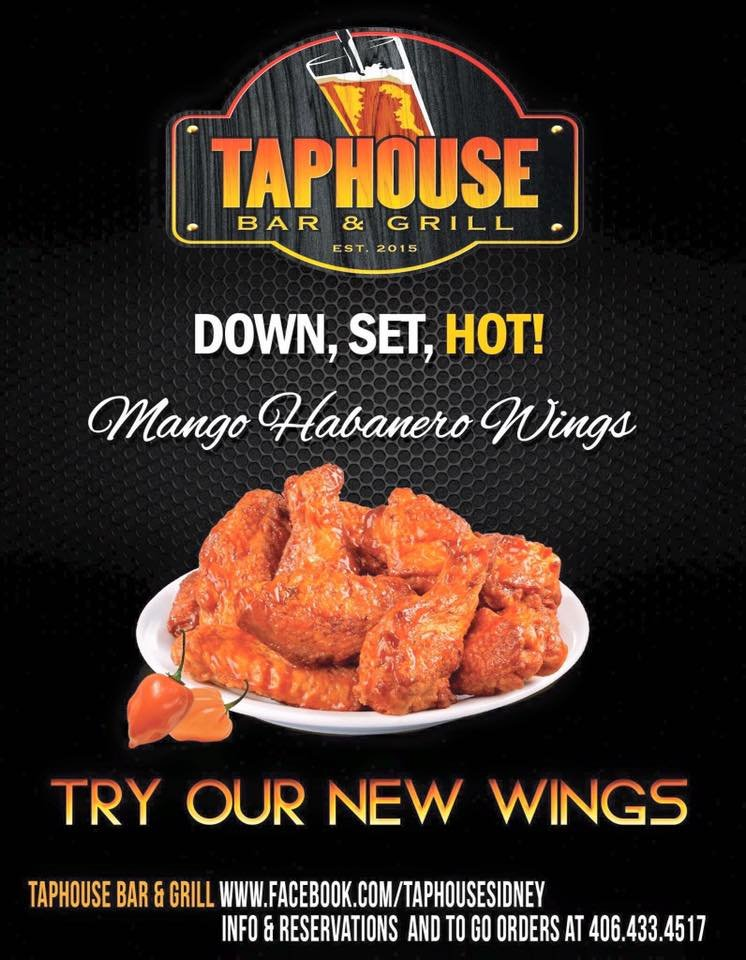 TapHouse Bar & Grill: 900 1/2 South Central Ave, Sidney, MT