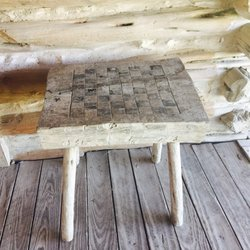 photo of pioneer farms austin tx united states homemade chess board