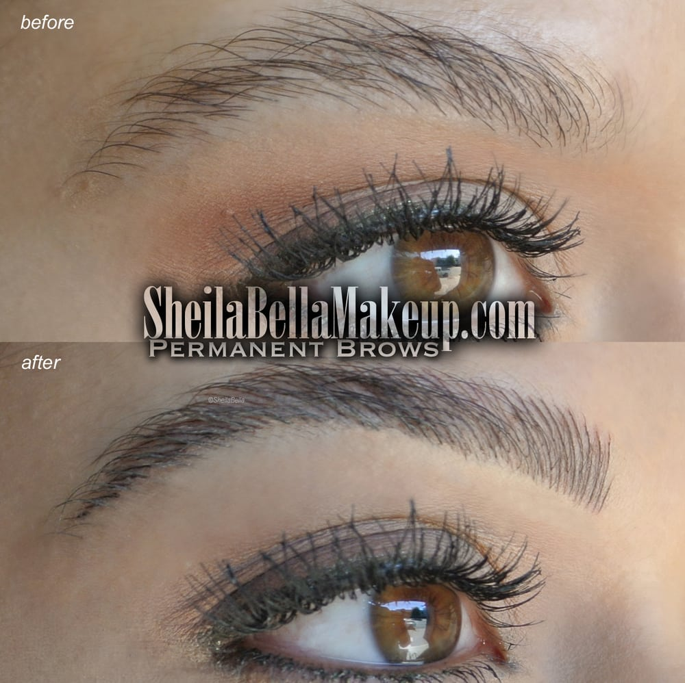 Sheila Bella Permanent Make Up 409 Photos 448 Reviews Makeup