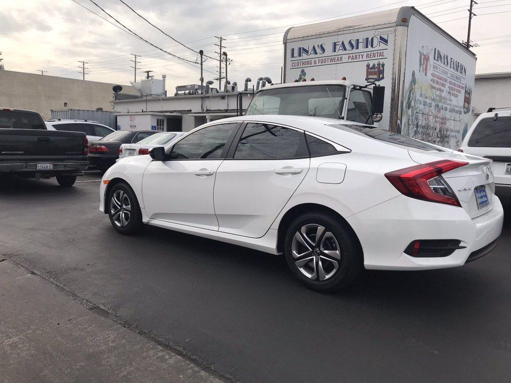 2018 honda civic with suntek cxp 25 complete yelp for Honda window tinting