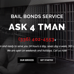the best attitude 70496 586b2 Ask 4 Tman - CLOSED - Bail Bondsmen - 801 Summit Ave ...