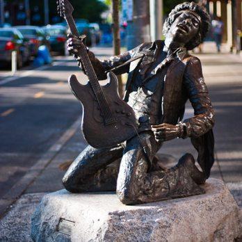 Jimi Hendrix Statue - 44 Photos & 50 Reviews - Public Art - 1604 ...