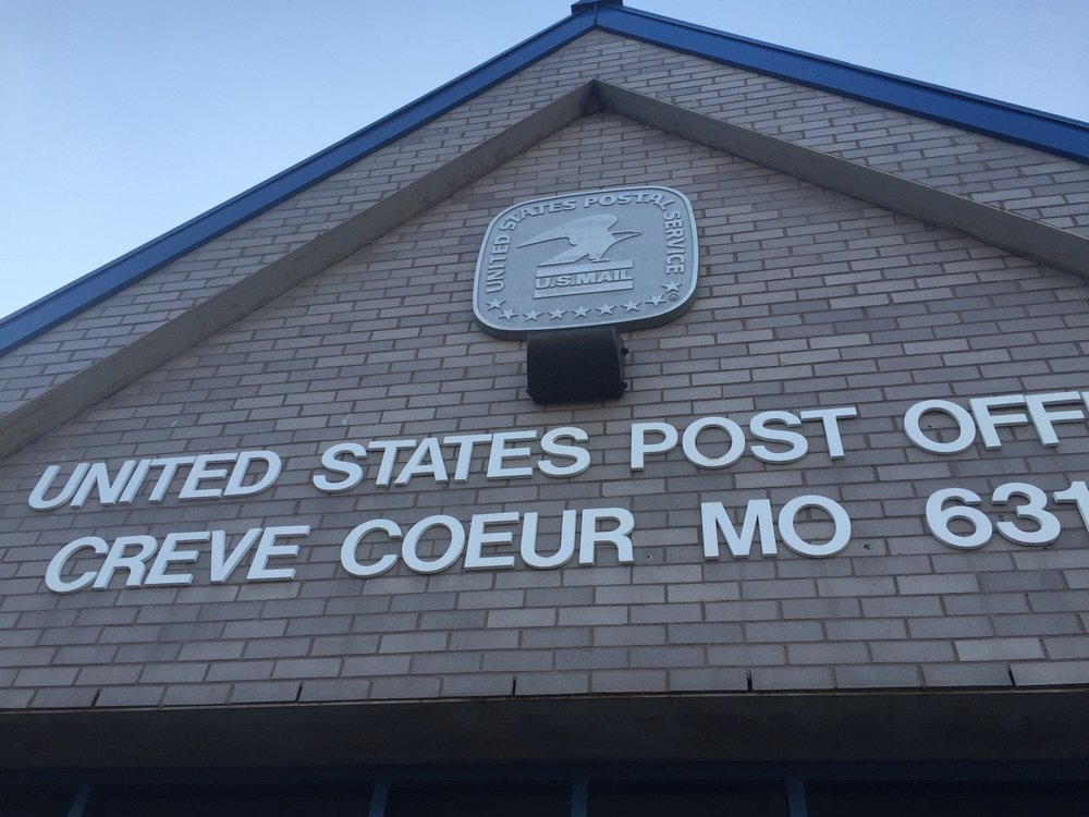 US Post Office: 331 N New Ballas Rd, Saint Louis, MO